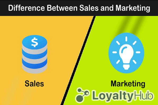 phân biệt sale marketing