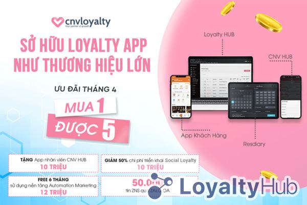 Phần mềm quản lý chăm sóc khách hàng - CNV Loyalty