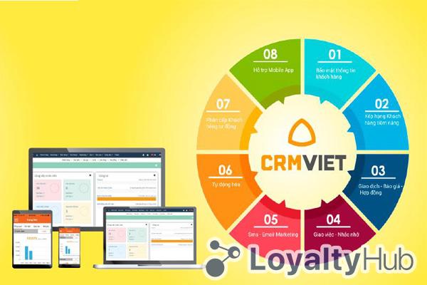 Phần mềm quản lý chăm sóc khách hàng CRMVIET